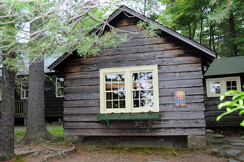 Cabins at Camp Oneka
